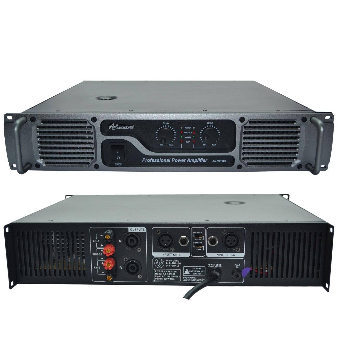 Amplificador American Sound PX1800