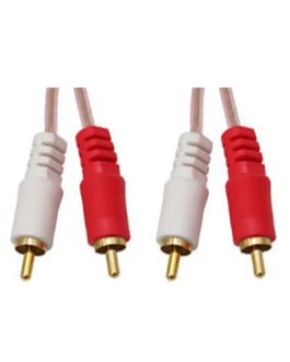 CABLE DE AUDIO RCA BLINDADO (2X2)