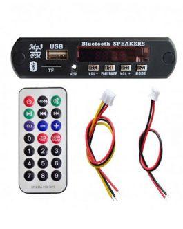 MÓDULO REPRODUCTOR PARA ADAPTAR USB/BLUETOOTH RECTANGULAR 5V-12V