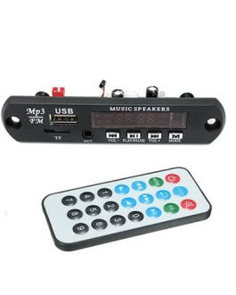 MÓDULO REPRODUCTOR USB/FM PARA ADAPTAR RECTANGULAR