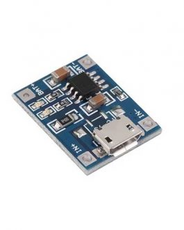 MODULO CARGADOR BATERIA LIPO TP4056 MICRO USB