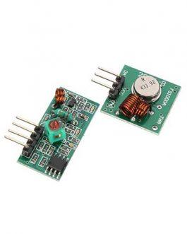 MODULO TX-RX 433MHZ FS1000A 20-200MTS