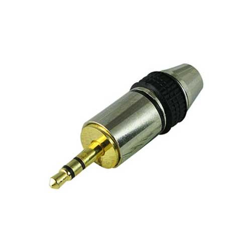 PLUG 3.5mm ESTEREO METÁLICO GRANDE