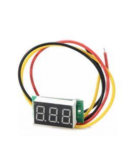 MINI VOLTIMETRO DIGITAL 0-100V DC