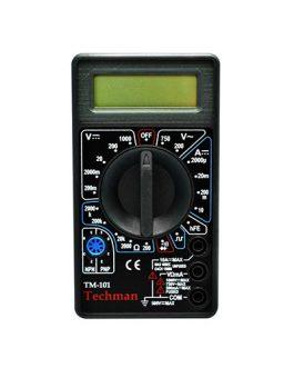 MULTÍMETRO DIGITAL TECHMAN TM-101