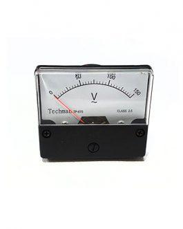 VOLTIMETRO ANALOGO  0-150V AC GRANDE
