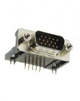 CONECTOR DB15 MACHO 3 LINEAS CHASIS