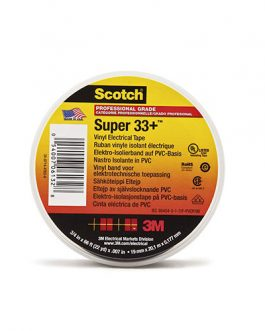 CINTA AISLANTE SCOTCH SUPER 33+ 3M