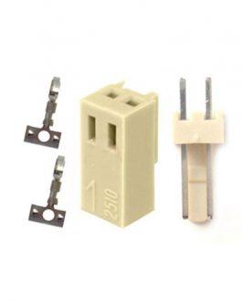 CONECTOR MOLEX GP 2 PINES