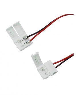CONECTOR DOBLE DE PRESION PARA CINTA LED 5050