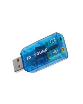 TARJETA DE SONIDO USB 5.1 DM-HD01